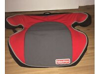 Car Booster Seat Preowned group 2/3 Fisher Price