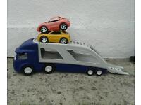 Little trikes large car carrier