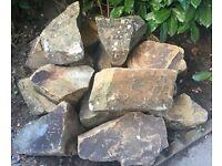 Large Garden Pond Rocks/Rockery/Stones