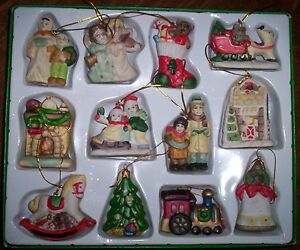 36 matching vintage Christmas tree ornaments / decorations Kitchener / Waterloo Kitchener Area image 1