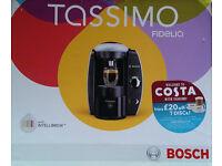 BOSCH COFFEE MAKER - T40 FIDELIA SILVER