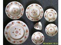 Royal Worcester Prince Regent 1811 Chamberlain.7 Piece Set Placing. 7 sets available