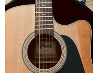 Takamine guitar P1dc Electro-Acoustic (Made in Japan).