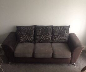 3 Seater Sofa, Good Condition, Very Minor Surface Marks / Discolouration, No Holes / Tears