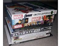 Star wars and marvel books ono