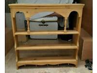 Wood Kitchen Wall Dresser. Used. Weymouth. Dorset