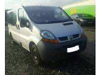 Renault traffic mini bus *** BREAKING