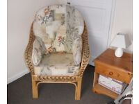 Conservatory Furniture - Bamboo / Cane Chair(s) - Price Reduced.