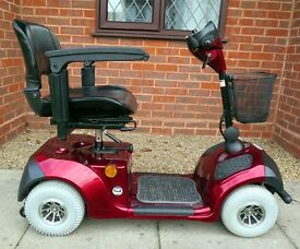 A beautiful Mercury Neo mobility scooter