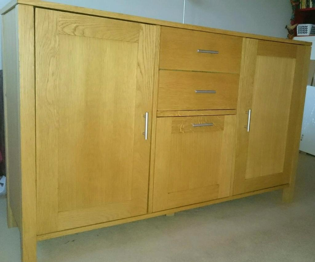 John lewis oak side board with Buy, sale and trade ads