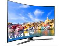 Samsung curve 55 inch tv with 4K display
