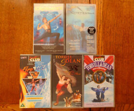 VHS TAPES - Selection of Musicals, Films, Dance, Comedy, Holiday Cruises and Isle of Wight.