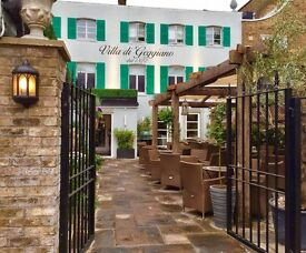 FT & PT Waiters and Waitresses in West London-Villa di Geggiano-