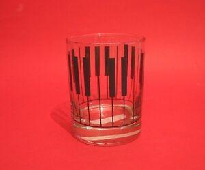Keyboard-Design-Glass-Tumbler-Pianist-Musician-Music-Teacher-Xmas-Gift-NEW