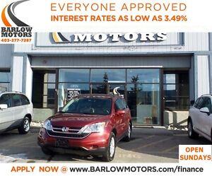 2010 Honda CR-V EX-L**AMVIC INSPECTION & CARPROOF PROVIDED!
