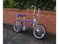Retro cruiser Bicycle - purple - cruiser