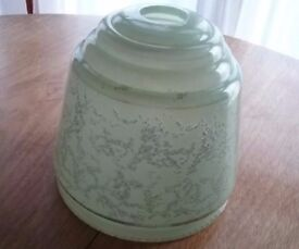 Vintage/ Art Deco Glass Lampshade