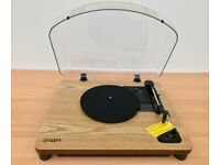 Ion Air LP Wood Wireless Streaming Vinyl Turntable with Bluetooth Connectivity