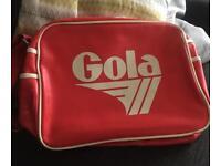 Vintage red Gola Bag