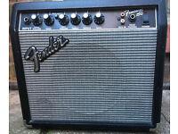 Fender Frontman 15g Audio in, Electric Guitar Practice Amp Amplifier 15w, Sounds Great!