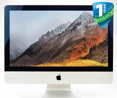 """Apple iMac 21.5"""" Core i5 4th Gen 8GB RAM 1TB HDD A1418 All-In-One PC Late 2013"""