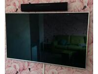 "Panasonic 58"" TV and Soundbar"