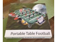 World Cup fever for a fiver! Portable table football game! Buy and play today!