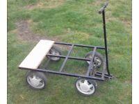 4 wheel trolley cart pet garden