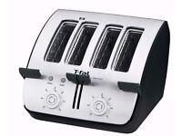 Tefal TT7441 Avante Deluxe 4-Slice Toaster with Bagel Function,