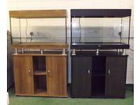Brand new 125L aquarium with cabinet and lighting bargain!