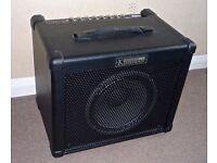 Kinsman K50B Bass Guitar Amplifier. (As New)