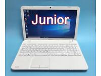 Toshiba Fast 6GB Ram 500GB HD Laptop, Boxed, Win 10, HDMI Microsoft office, Immaculate