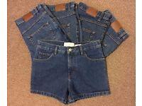 job lot Vintage Womens Gap 1969 Denim Shorts Jeans Hotpants