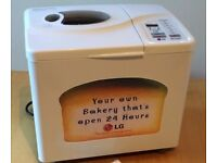 Breadmaker for sale - LG - Excellent condition