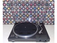 SONY PS-X4 Semi-Automatic Direct-Drive Turntable.
