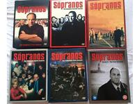 Nearly new Sopranos seasons 1-6 box sets