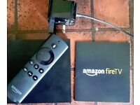 Amazon Fire TV box (generation 1 - excellent choice for use with an HD (non 4K) TV. Works perfectly