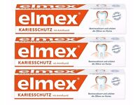 Elmex toothpaste. Caries protection 3x75ml.PROMOTION