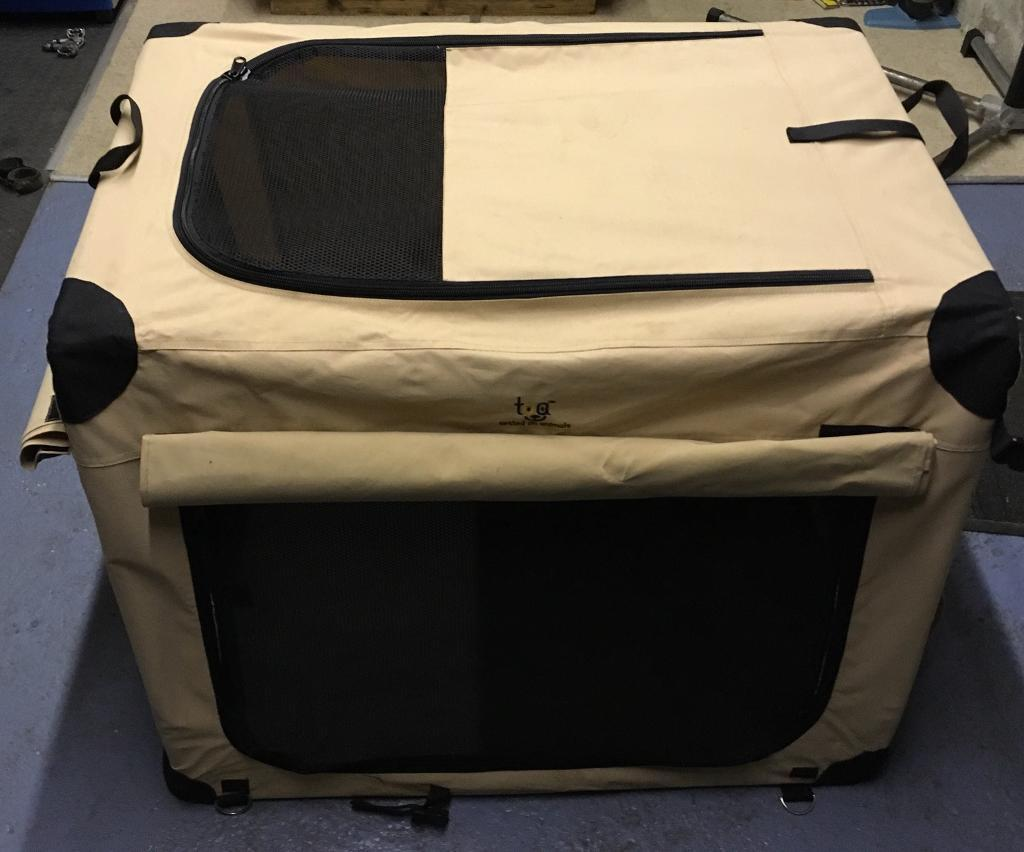 Very Large Fabric Dog Cage - TOA - Tested On Animals