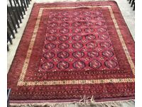 Large Clean Bokhara rug/ carpet