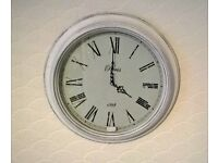 Brand new Shabby Chic style wall clock