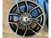 "NEW RS ALLOY WHEELS FORD JAGUAR RENAULT VOLVO 5 X 108 18"" 7.5J 5 x 108"
