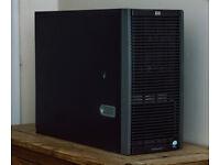 HP ProLiant ML350 G5 Gigabit Xeon Server 4GB ESXi Fully setup ready to go 5x146GB 10k SAS drives