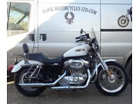 MINT CONDITION 2007 HARLEY DAVIDSON XL883L LOW SPORTSTER ONLY 3797 MILES WITH EXTRAS