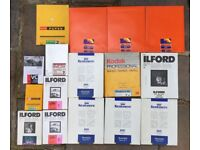 Darkroom Photographic Paper - Mix of sizes and Qty - Ilford Multigrade Filters
