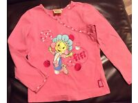 Fifi and the Flowertots long sleeve top (age 5-6)