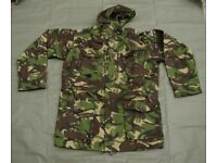 British Forces issue Windproof Combat Smock in (woodland pattern) DPM Woodland colors