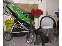 Mamas and Papas Sola Travel System / Pushchair
