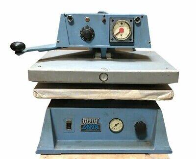 Insta Heat Seal Machine Model 720 T-shirt Press 16x20 Platen 240 Vac