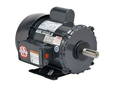 1 Hp Electric Motor 1725 Rpm New U.s.motor 56 Frame 110220 Volts
